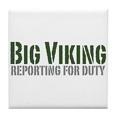 Big Viking Tile Coaster