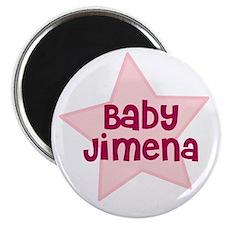 Baby Jimena Magnet