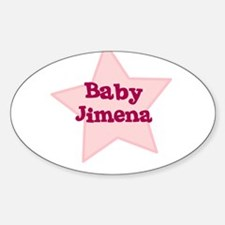 Baby Jimena Oval Decal