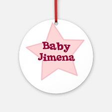 Baby Jimena Ornament (Round)