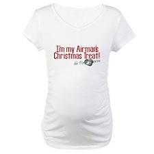 Airman's Christmas AF Fiancee Shirt