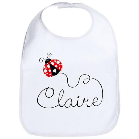 Ladybug Claire Bib