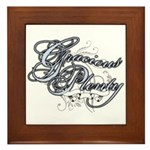 Gracious Plenty Framed Tile