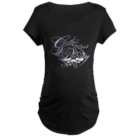 Gracious Plenty Maternity Dark T-Shirt