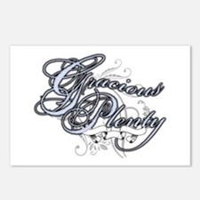 Gracious Plenty Postcards (Package of 8)