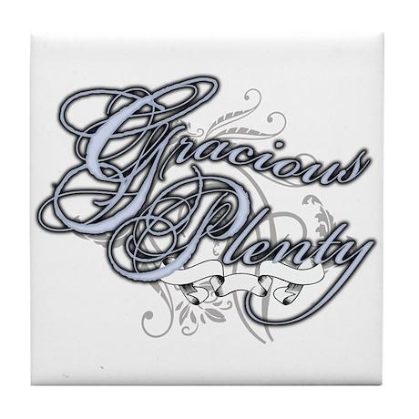 Gracious Plenty Tile Coaster