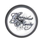 Gracious Plenty Wall Clock