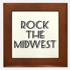 Rock The Midwest Framed Tile