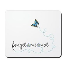 Forget~Me~Not Mousepad