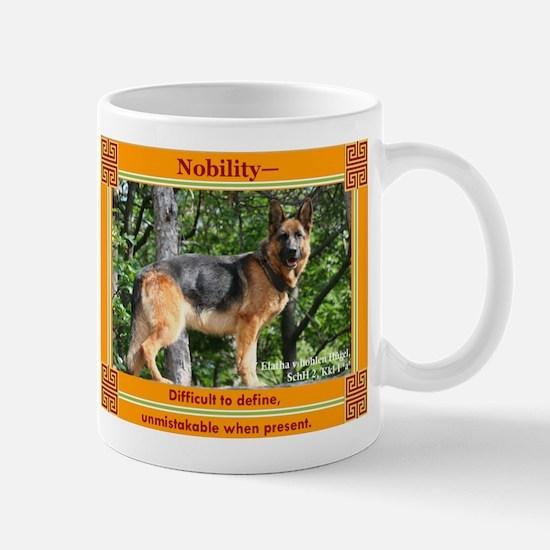 German Shepherd Type Mug