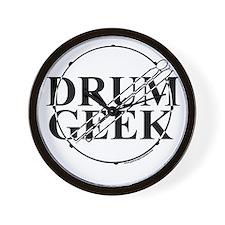Drum Geek Wall Clock
