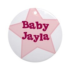 Baby Jayla Ornament (Round)