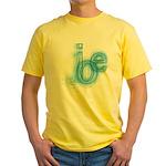 The Name is Joe Yellow T-Shirt