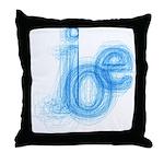 The Name is Joe Throw Pillow