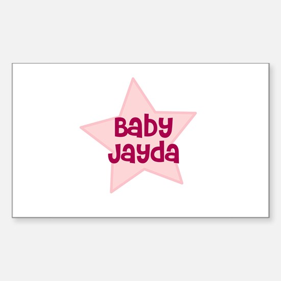 Baby Jayda Rectangle Decal