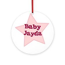 Baby Jayda Ornament (Round)