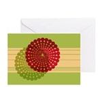 Spirolap Red & Green Greeting Cards (Pk of 10)