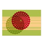 Spirolap Red & Green Postcards (Package of 8)