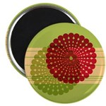 "Spirolap Red & Green 2.25"" Magnet (10 pack)"