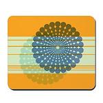 Spirolap Blue & Orange Mousepad