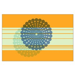 Spirolap Blue & Orange Posters