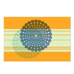 Spirolap Blue & Orange Postcards (Package of 8
