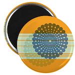 "Spirolap Blue & Orange 2.25"" Magnet (10 pack)"
