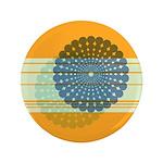 """Spirolap Blue & Orange 3.5"""" Button"""
