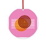 Spirolap Pink Ornament (Round)