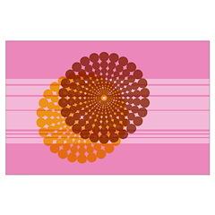 Spirolap Pink Posters