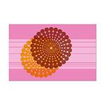 Spirolap Pink Mini Poster Print