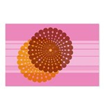 Spirolap Pink Postcards (Package of 8)