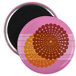 "Spirolap Pink 2.25"" Magnet (10 pack)"