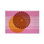 Spirolap Pink Rectangle Magnet (100 pack)