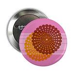 """Spirolap Pink 2.25"""" Button (10 pack)"""
