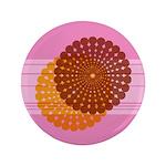 """Spirolap Pink 3.5"""" Button"""