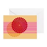 Spirolap Pink & Peach Greeting Cards (Pk of 10
