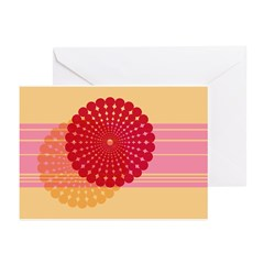 Spirolap Pink & Peach Greeting Cards (Pk of 20