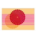 Spirolap Pink & Peach Postcards (Package of 8)