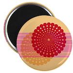 "Spirolap Pink & Peach 2.25"" Magnet (10 pack)"