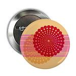 "Spirolap Pink & Peach 2.25"" Button (100 pack)"