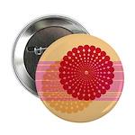 "Spirolap Pink & Peach 2.25"" Button"
