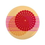 "Spirolap Pink & Peach 3.5"" Button"