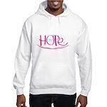 Hope - Pink Hooded Sweatshirt