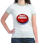 Don't Panic Jr. Ringer T-Shirt