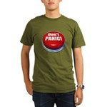 Don't Panic Organic Men's T-Shirt (dark)