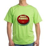 Don't Panic Green T-Shirt