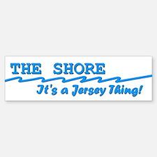 NJ The Jersey Shore Sticker (Bumper)