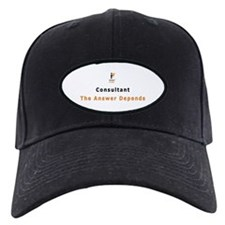 IIF Baseball Hat, Consultant The Answer Depends