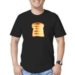 Toasty Men's Fitted T-Shirt (dark)